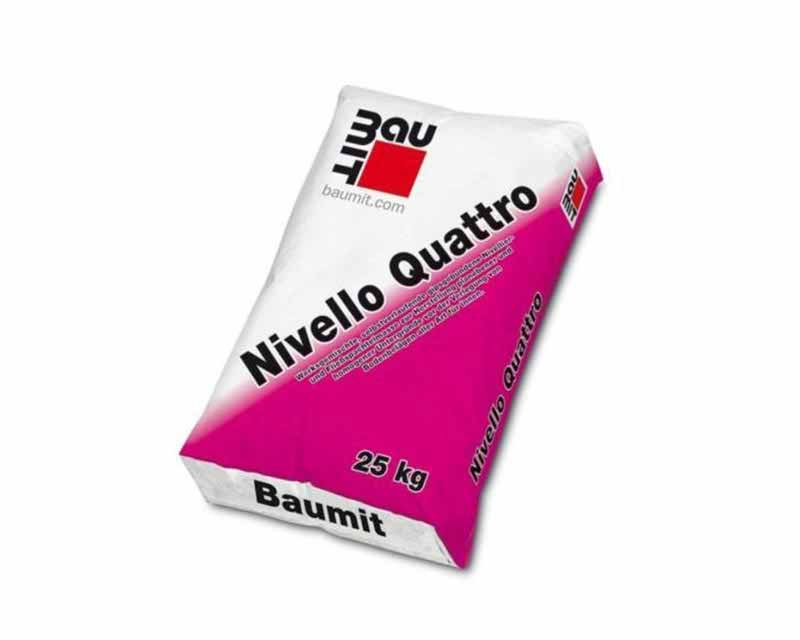 Baumit Nivello Quattro beltéri önterülő aljzatkiegyenlítő
