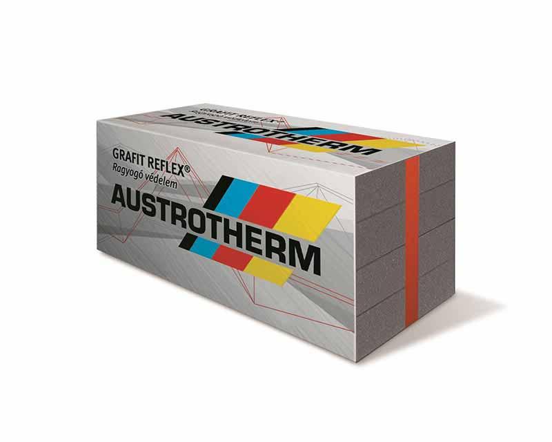 Austrotherm GRAFIT REFLEX homlokzati hőszigetelő lemez