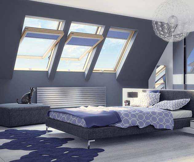 Fakro FTS-V középen billenő tetőablak