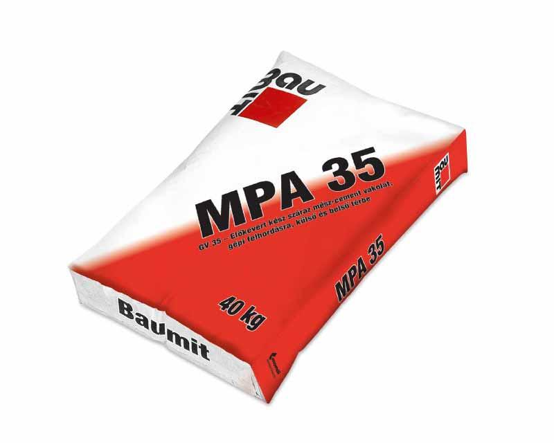 Baumit MPA 35 (GV 35 külső gépi vakolat)
